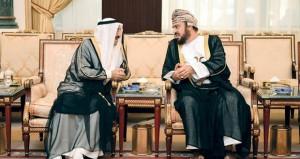 تعازي جلالة السلطان لأمير الكويت نقلها أسعد بن طارق