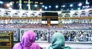 الكعبة المشرفة بناء شامخ في قلب المسجد الحرام