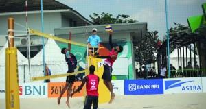 منتخبا الطائرة الشاطئية والتنس يفتتحان مشوارهما بفوز بدورة الألعاب الآسيوية