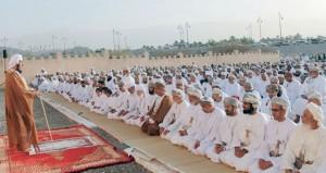 محافظات وولايات السلطنة تحتفل بأول أيام عيد الاضحى المبارك