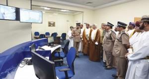 افتتاح مركز شرطة ثمريت