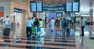 7.8 مليون عدد المسافرين عبر مطاري مسقط الدولي وصلالة في النصف الأول من العام الجاري