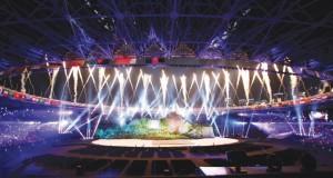 السلطنة تشارك في حفل افتتاح دورة الألعاب الآسيوية الثامنة عشرة بإندونيسيا