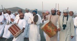 مهرجان العيود بالصافن بعبري ملتقى للأسر والفنون التراثية واللألعاب الشعبية