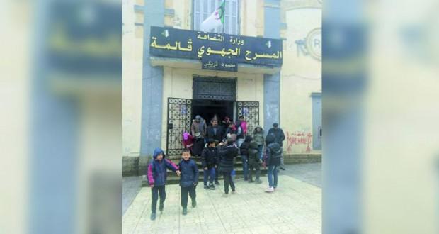 مسرحية حول مأساة الجزائريين المنفيين إلى كاليدونيا