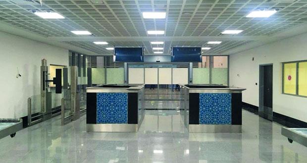 17 سبتمبر القادم التشغيل التجاري لمبنى المسافرين بمطار الدقم