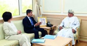 وزير الصحة يستقبل المدير الإقليمي لمنظمة الصحة العالمية لشرق المتوسط
