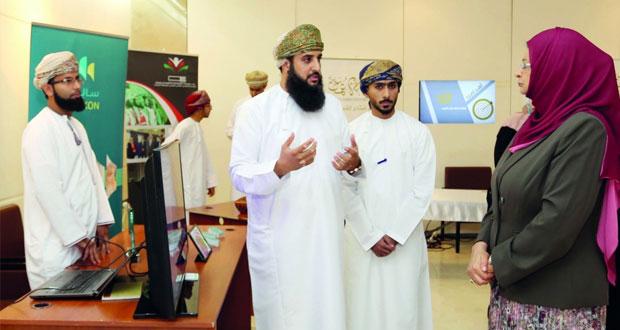 وزيرة التعليم العالي تزور المعرض المصاحب للقاءات التعريفية للطلبة المبتعثين