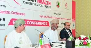 """الجمعية الطبية العمانية تنظم """"مؤتمر ومعرض عمان الدولي للصحة"""" سبتمبر القادم"""