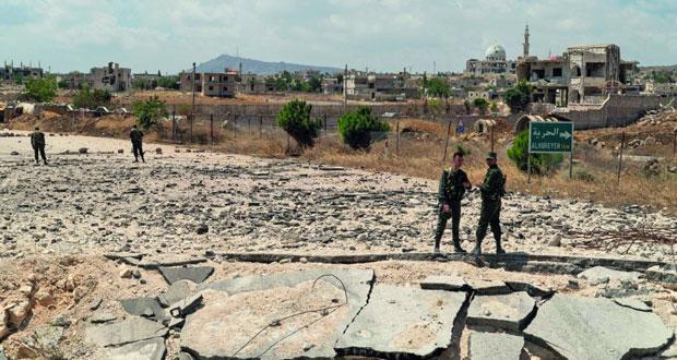 الجيش السوري يدمر أوكارا للإرهابيين في ريف إدلب