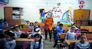 رغم الأزمة .. مدارس (الأونروا) تستقبل طلابها في غزة