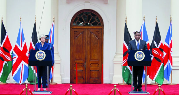 بريطانا تلمح لتجاوز مهلة إتمام (بريكست) وماي تبرم في نيجيريا اتفاقيات تجارية