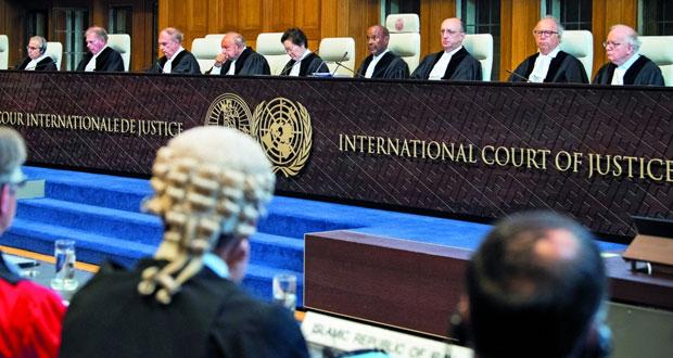 (العدل الدولية) تنظر دعوى إيرانية لرفع العقوبات الأميركية