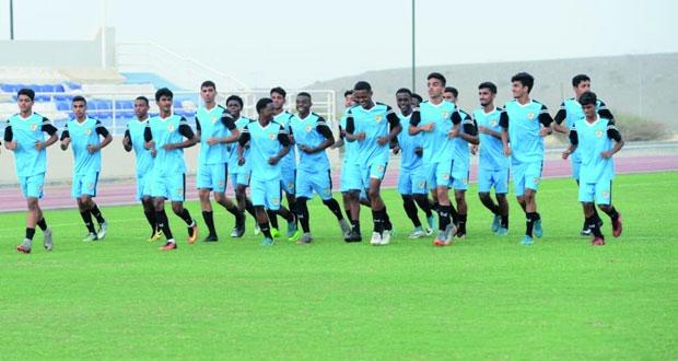 منتخبنا الوطني للناشئين لكرة القدم يختتم معسكره الداخلي