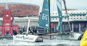 """فريق """"الطيران العُماني"""" يحقق المركز الثالث في الجولة الخامسة بكارديف"""