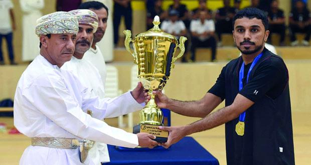 فريق قيادة شرطة المهام الخاصة يتوج بلقب بطولة شرطة عمان السلطانية لكرة السلة