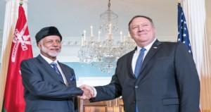السلطنة وأميركا تناقشان تعزيز الاستقرار الإقليمي