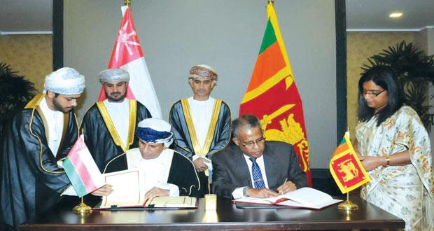 السلطنة وسريلانكا توقعان اتفاقية تجنب الازدواج الضريبي