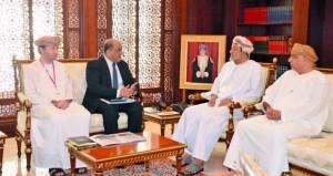 وزير التراث والثقافة يستقبل مدير المركز الإقليمي لحفظ التراث الثقافي