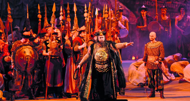 """دار الأوبرا السلطانية مسقط تفتتح موسمها الأوبرالي برائعة """"الأمير إيغور"""" لألكسندر بورودين"""