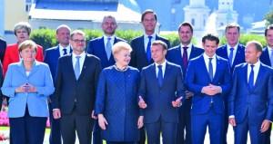 دعوات لتبني الأوروبيين موقفا متجانسا وقمة خاصة في نوفمبر