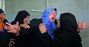 استشهاد فلسطيني وإصابة 20 برصاص وصواريخ الاحتلال على غزة