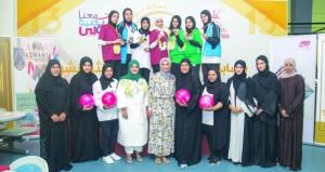 سلاح الجو اول وبايكر ستيشن ثانيا وتنمية نفط عمان ثالثا في منافسات زوجي البولينج للسيدات