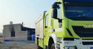 وفاة ( 10) مواطنين من عائلة واحدة في حريق منزل بصحم