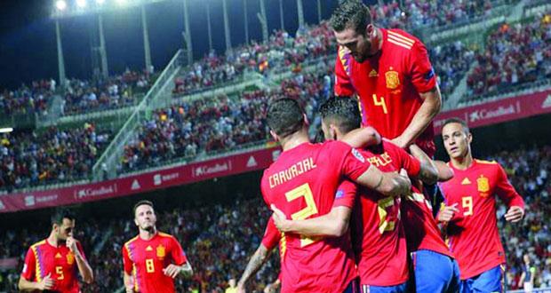 دوري الأمم الأوروبية : إسبانيا تسحق كرواتيا بسداسية وتتابع تعافيها