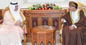 نائب رئيس الوزراء لشؤون مجلس الوزراء يستقبل وزير البيئة والمياه والزراعة بالمملكة العربية السعودية