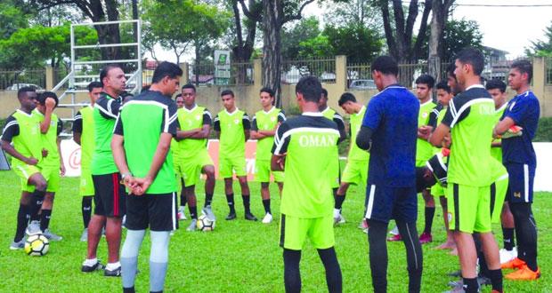 منتخبنا الوطني للناشئين يدخل أجواء البطولة الآسيوية بماليزيا