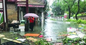 إعصار مانجخوت القوي يضرب هونج كونج وماكاو ويتجه صوب الصين