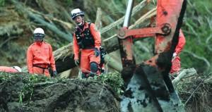 ارتفاع حصيلة وفيات زلزال شمال اليابان إلى 35 شخصا