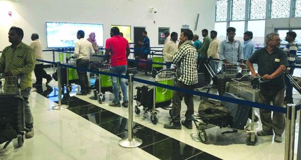 بدء التشغيل التجاري لمبنى المسافرين الجديد بمطار الدقم .. الاثنين المقبل