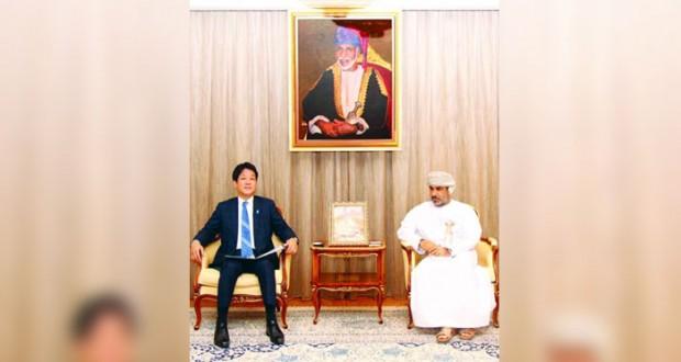 السلطنة واليابان تستعرضان فرص التعاون والاستثمار في عدد من القطاعات