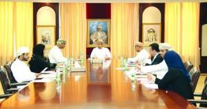 فريق المتابعة بالأمانة العامة للمجلس الأعلى للتخطيط يتابع سير مبادرات (تنفيذ)