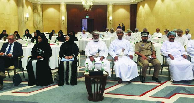 """حلقة عمل حول """"مشروع ضبط ومراقبة سلامة المنتجات في السوق الخليجية المشتركة"""""""
