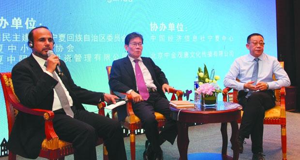 الحملة الترويجية للدقم تستعرض الفرص الاستثمارية المختلفة في (هانزو) الصينية