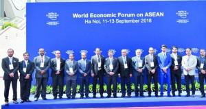 وفد الغرفة بجنوب الشرقية يشارك في المنتدى الاقتصادي العالمي حول الآسيان