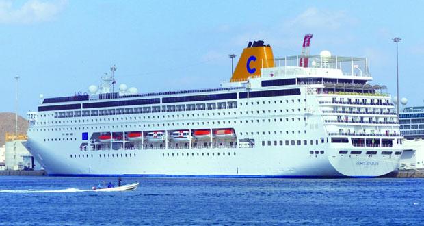 السلطنة تتوقع استقبال 260 سفينة بموسم السفن السياحية المقبل