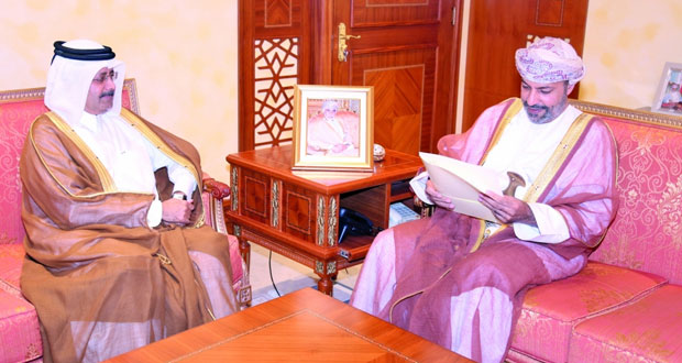 دعوة وزير الداخلية لحضور افتتاح معرض الأمن والدفاع المدني بقطر