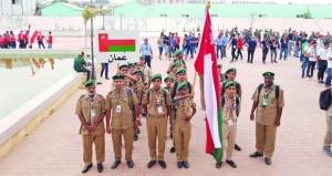 الكشافة تختتم مشاركتها في فعاليات المخيم الكشفي العربي بالجزائر