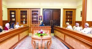 مجلس إدارة الهيئة العامة للصناعات الحرفية يستعرض المشاريع الخاصة بتشجيع ريادة الأعمال والاستثمار ورفع مساهمتها في الناتج المحلي