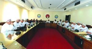 اجتماع بين لجنة التعليم بالغرفة وفروعها ومكتب تصنيف المدارس الخاصة بالتربية والتعليم