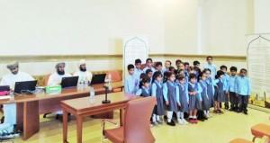 تنافس كبير بين المشاركين في التصفيات الأولية لمسابقة السلطان قابوس للقرآن الكريم بالسويق