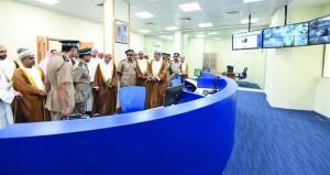 شرطة عمان السلطانية تحتفل بافتتاح المبنى الجديد لمركز شرطة روي