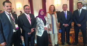 السلطنة تشارك في مؤتمر الصحة العربي الثامن بواشنطن