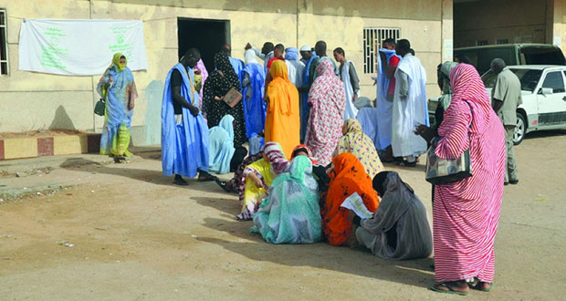 ناخبو موريتانيا يقترعون بـ(كثافة) في الانتخابات البرلمانية