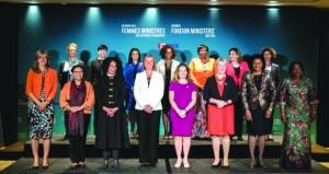كندا: قمة للنساء فقط تضم 18 وزيرة خارجية