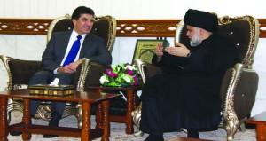 العراق: الصدر وبرزاني يبحثان تشكيل الحكومة الجديدة
